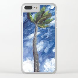 Kailua Palm Clear iPhone Case