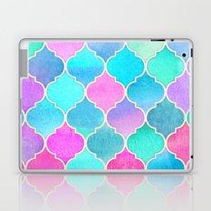 Bright Moroccan Morning - pretty pastel color pattern Laptop & iPad Skin