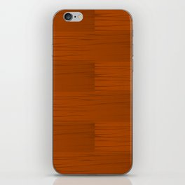 Wood Grain Pattern iPhone Skin