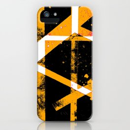 abstract cranes iPhone Case