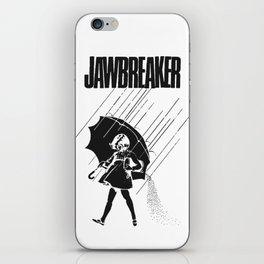 Jawbreaker Girl with umbrella iPhone Skin