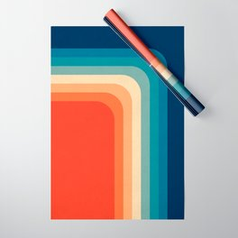 Retro 70s Color Palette III Wrapping Paper