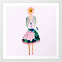 June Bloom Art Print
