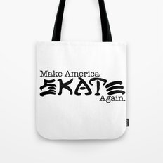 Skate Again Tote Bag