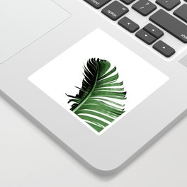 Banana Leaf Sticker