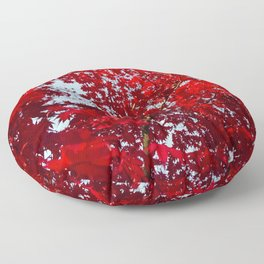 Jubilant Japonica Floor Pillow