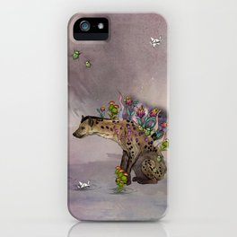 Stardust III: Hyena iPhone Case