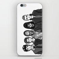 boys iPhone & iPod Skins featuring Dystopian Boys by Plebnut