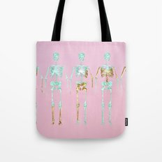 Spooky Skeletons Tote Bag