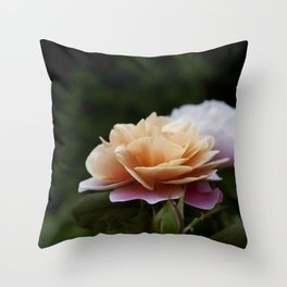 Lily Pad Rose Throw Pillow