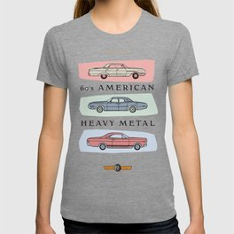 Motor Style Inc.: 60s American Heavy Metal T-shirt