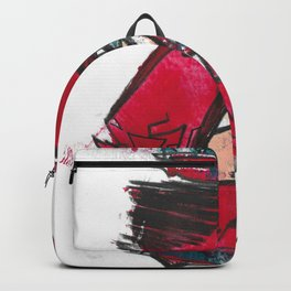 Eve Fine Art Modern Abstract Drawing and Painting Backpack