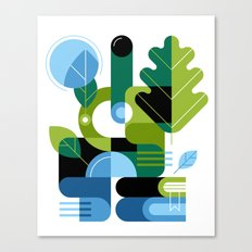 Biology Canvas Print