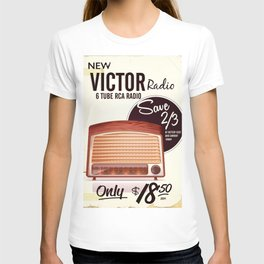 Vintage American radio advert T-shirt
