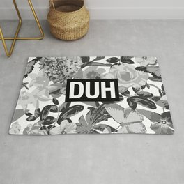 DUH B&W Rug