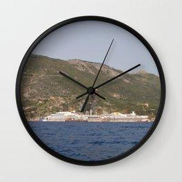 Wreck Of The Costa Concordia Wall Clock