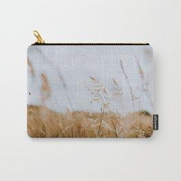 A Golden Desert - Point Reyes Grasses Carry-All Pouch