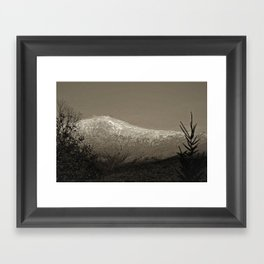Mount Washington Framed Art Print