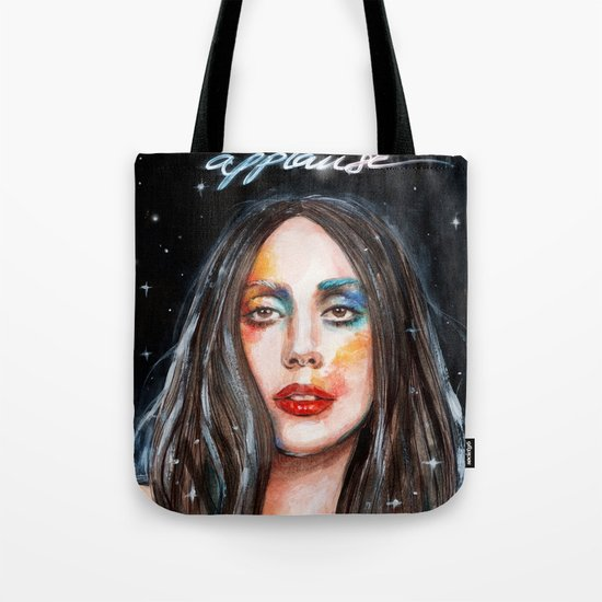 I Live For The Applause Tote Bag