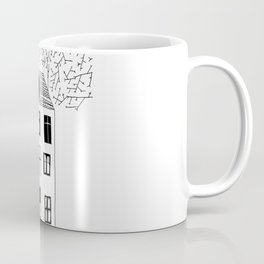 HOUSE ILLUSTRATION Coffee Mug