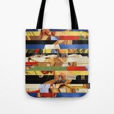 Glitch Pin-Up Redux: Jessica Tote Bag