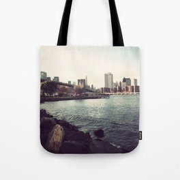 The Calm of the City Tote Bag