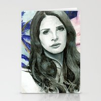 ultraviolence Stationery Cards featuring ULTRAVIOLENCE by Jethro Lacson