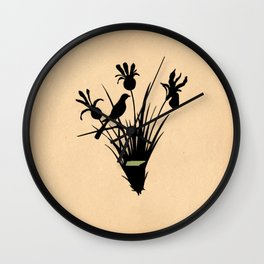 Tennessee - State Papercut Print Wall Clock