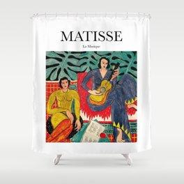 Matisse - La Musique Shower Curtain