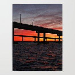 An Evening on the Caloosahatchee II Poster