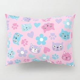 Kitty Cat Pattern by Everett Co Pillow Sham