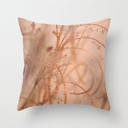 Dead Garden Throw Pillow