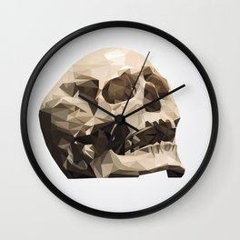Study No. 3 - The Skull Wall Clock