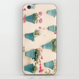Flowerpots iPhone Skin