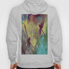 Painting Orchids and Dragonflies Hoody