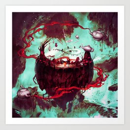 fantasy world Art Print