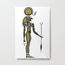 Bastet - Goddess of ancient Egypt Metal Print