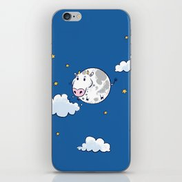 The Cow in the Moooon iPhone Skin