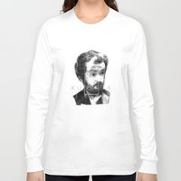 stanley kubrick Long Sleeve T-shirts featuring kubrick by Levvvel