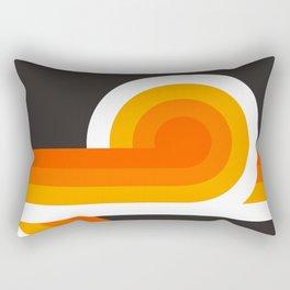 Flame Looper Rectangular Pillow