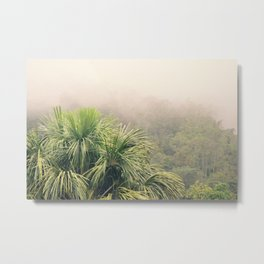 Rainforest Fog Metal Print