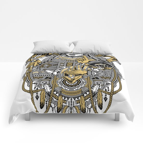 mother of punk Comforters