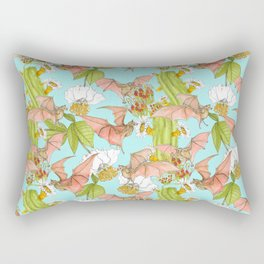 Agave Bats Rectangular Pillow