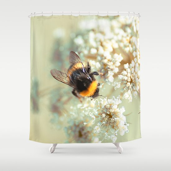 Bumblebee. Shower Curtain