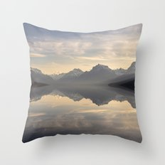 Landscape Reflections #mountain Throw Pillow