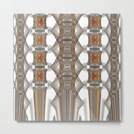Tapestry of Swords Metal Print