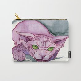 The Pink Sphinx Carry-All Pouch