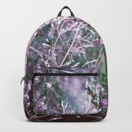 Pink winter heather Backpack