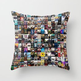 Cable Television Series Throw Pillow