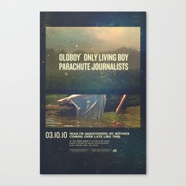 Parachute Journalists - Questioning My Motives Canvas Print